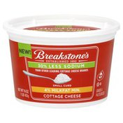Breakstones Cottage Cheese, 4% Milkfat Min., Small Curd