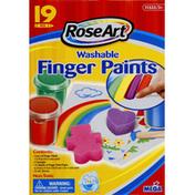 RoseArt Finger Paints, Washable