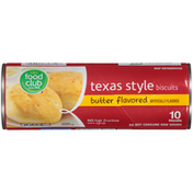 Food Club Butter Flavored Texas Style Biscuits