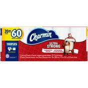 Charmin Ultra Strong Triple Roll Toilet Paper 20 Rolls Charmin Ultra Strong Triple Roll Toilet Paper 20 Rolls