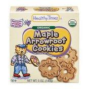 Healthy Times Maple Arrowroot Cookies Organic