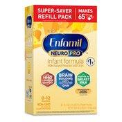 Enfamil® NeuroPro Infant Formula - Brain Building Nutrition Inspired by Breast Milk - Powder Refill Box