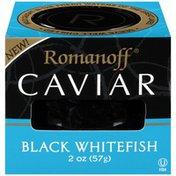 Romanoff Caviar Black Whitefish Caviar