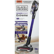 Black + Decker Stick Vacuum, Removable Battery, Extreme