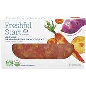 Gerber Sweet Potato & Carrot Organic Ready-to-Blend Baby Food Kit