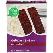 Food Club Cake Mix, Deluxe, Red Velvet