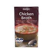 Meijer Chicken Fat Free Broth