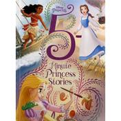 Disney Book, 5 Minute Princess Stories