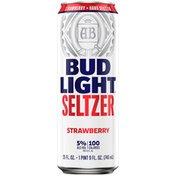 Bud Light Hard Seltzer Strawberry, Can