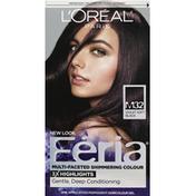 Feria Permanent Haircolour, Gel, Violet Soft Black M32