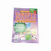 Penny Press Tournament & Master's Variety Puzzles Games Magazines