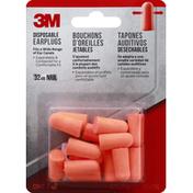 3M Earplugs, Disposable
