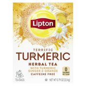 Lipton Herbal Tea Bags With Turmeric Ginger And Orange