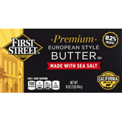 First Street Butter, Premium, European-Style