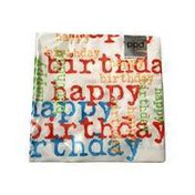 Ppd Ppd Lunch Napkin Birthday