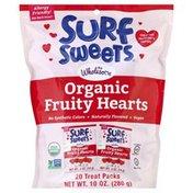 Surf Sweets Fruity Hearts, Organic, Treat Packs