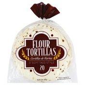 Food Club Tortillas, Flour, Soft Taco Style, 8 Inch
