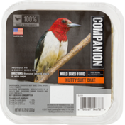 Companion Wild Bird Food Nutty Suet Cake