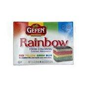 Gefen Rainbow Food Coloring