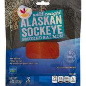 SB Smoked Salmon, Alaskan Sockeye, Wild Caught