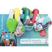 Infantino Activity Toy, Spiral & Stretch