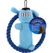 Companion Dog Toy, Sports Ball with Towel