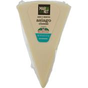 Market 32 Asiago Cheese Wedge
