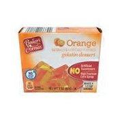 Baker's Corner Orange Gelatin