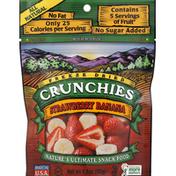 Crunchies Freeze Dried Snack, Strawberry Banana