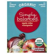 Simply Balanced Vinaigrette, Organic, Apple Cider