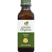 Simply Organic Lemon Flavor