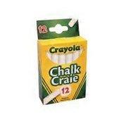 Crayola White Swan Chalk