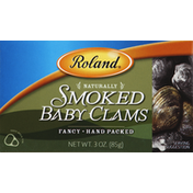 Roland Baby Clams, Naturally Smoked