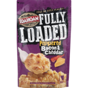 Idahoan Fully Loaded Mashed Potatoes Peppered Bacon & Cheddar