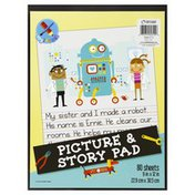 Top Flight Picture & Story Pad, 80 Sheets
