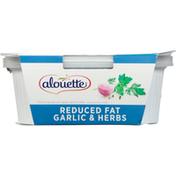 Alouette Soft Spreadable Cheese, Reduced Fat, Garlic & Herbs