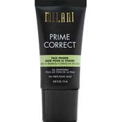 Milani Face Primer, Prime Correct, Corrects Redness 03,