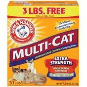 Arm & Hammer Multi-Cat Extra Strength Clumping Cat Litter