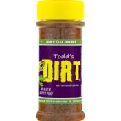 Todd's Dirt Bayou Dirt Creole Seasoning & Spicy Rub