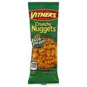 Vitners Corn Snack, Jalapeno Flavored, Crunchy Nuggets