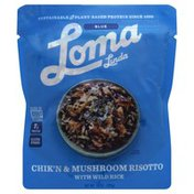 Loma Linda Risotto, Chik'n & Mushroom, with Wild Rice, Blue