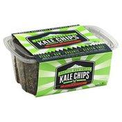 Pacific Northwest Kale Chips, Lava Rock Sriracha