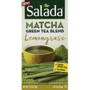 Salada Green Tea Blend, Lemongrass, Tea Bags