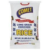 Comet Rice, Enriched, Long Grain