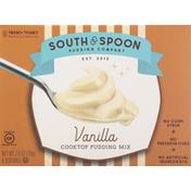 South & Spoon Pudding Company Cooktop Pudding Mix, Vanilla