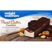 Weight Watchers Ice Cream Candy Bar, Peanut Butter Caramel