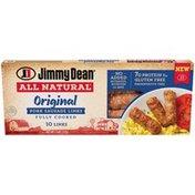 Jimmy Dean All-Natural* Original Pork Sausage Links, 10 Count