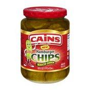 Cains Reduced Sodium Hamburger Pickle Chips