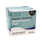 Best Choice Hemorrhoid Pad