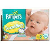 Pampers Swaddlers Jumbo Pack Size 2 Diapers
